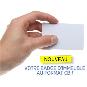 carte magnetique immeuble NORALSY