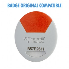 badge comelit orange