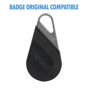 badge immeuble hexact