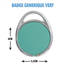 badge porte immeuble