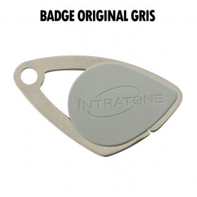 badge intratone gris