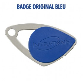 badge intratone bleu