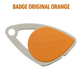 intratone badge orange