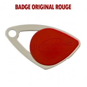 badge intratone rouge